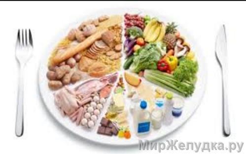 Специальная диета 2 при гастрите