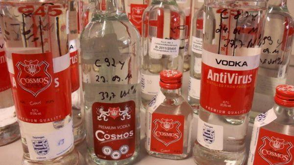 Водка в качестве антисептика от коронавируса