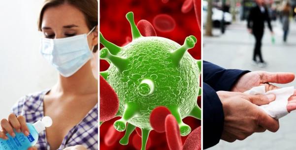 Санитайзеры против коронавируса